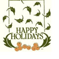 Wall Decals and Stickers -Happy holidays