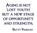 Wall Decals and Stickers -- Aging is not lost youth but a new stage..