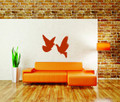 Wall Decals and Stickers – Pigeons birds in flight