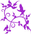 Wall Decals and Stickers -- Bird Design
