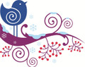 Wall Decals and Stickers – Girl Kids Bird Design