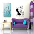 Wall Decals and Stickers – New Shoes, Cure the Blues