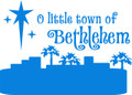 Wall Decals and Stickers –  a little town of bethlehem