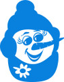 Wall Decals and Stickers – snowman face