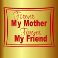 Wall Decals and Stickers –  forever my mother*