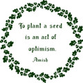 Wall Decals and Stickers – To Plant A Seed - Life Quote