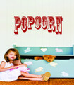 Wall Decals and Stickers –  popcorn