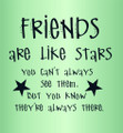 Wall Decals and Stickers –  friends are like stars