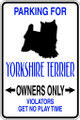 Wall Decals and Stickers – parking for yorkshire terrier
