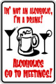 Wall Decals and Stickers –  i am not an alcoholic