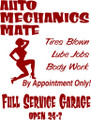 Wall Decals and Stickers – auto mechanic