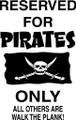 Wall Decals and Stickers – reserved for pirates