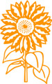 Wall Decals and Stickers – Sunflower Design