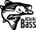 Wall Decals and Stickers –  kick bass