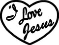 Wall Decals and Stickers  –   I love jesus