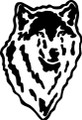 Wall Decals and Stickers  –  wolf head