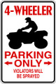 Wall Decals and Stickers – no parking