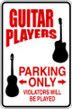 Wall Decals and Stickers – guitar parking only