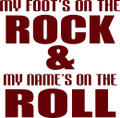 Wall Decals and Stickers –  my foot's on the rock