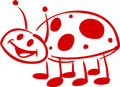 Wall Decals and Stickers –  ladybug