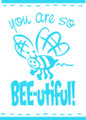 Wall Decals and Stickers   – you are so bee utiful