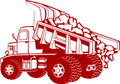 Wall Decals and Stickers –  Dump Truck