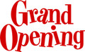 Wall Decals and Stickers –  Grand Opening*