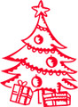 Wall Decals and Stickers –  Christmas Tree And Presents
