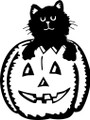 Wall Decals and Stickers –  Halloween Cat
