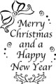 Wall Decals and Stickers –  Merry Christmas