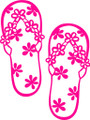 Wall Decals and Stickers –   Flip Flops