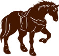 """Wall Decals and Stickers –    Horse Rider"""""""