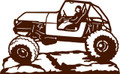 Wall Decals and Stickers –  Jeep*