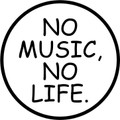 Wall Decals and Stickers –  No Music No Life