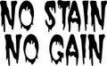 Wall Decals and Stickers –  No Stain No Gain