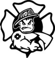 Wall Decals and Stickers –  Fireman**