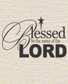 Wall Decals and Stickers - blessed be the name of the lord