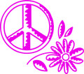 Wall Decals and Stickers – Peace Design **