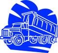 Wall Decals and Stickers – Dump Truck   Design
