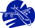 Wall Decals and Stickers – Plane Design