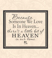 Wall Decals and Stickers - Because someone we love..