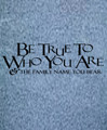 Wall Decals and Stickers - Be true to who you are.. (2)