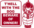 Wall Decals and Stickers – Beware Of Owner