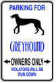 Wall Decals and Stickers - Greyhound