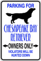Wall Decals and Stickers - Chesapeake Bay Retriever