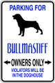 Wall Decals and Stickers - Bullmastiff