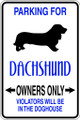 Wall Decals and Stickers - Dachshund