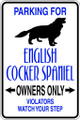 Wall Decals and Stickers - English Cocker Spaniel