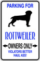 Wall Decals and Stickers - Rottweiler