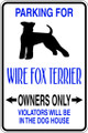 Wall Decals and Stickers - Wire Fox Terrier